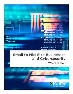 Small Business Cybersecurity - Virginia CPA