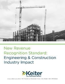 Revenue Recognition Engineering and Construction Guide - Keiter CPA